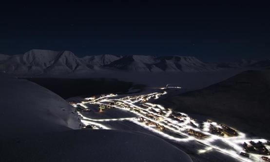 Northern Lights, Snowmobile and Snowshoe adventure in Spitsbergen, Svalbard