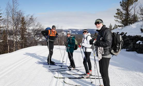 Cross-country Skiing from the Mountains to Oslo