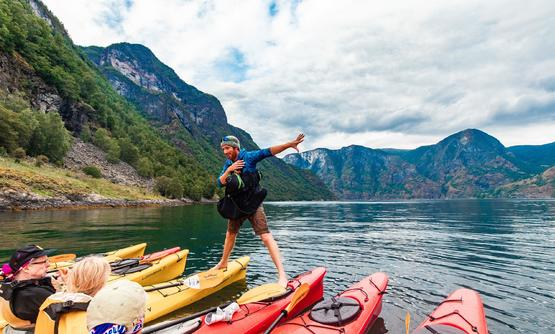 Hiking, Biking and Kayaking in the Norwegian Fjords