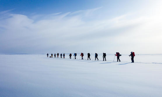 Ski Expedition in Northern Norway
