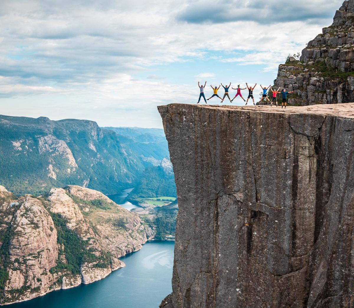 Mission Impossible Fallout Cast Location: Preikestolen in Norway