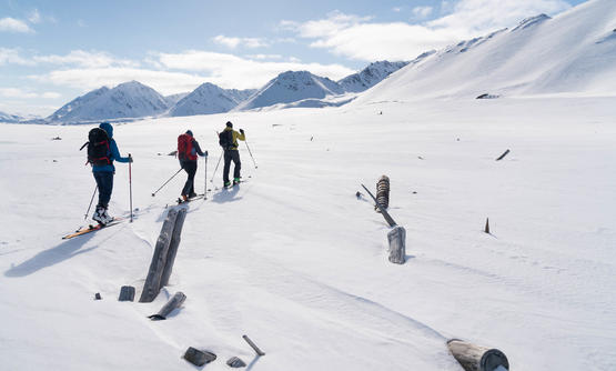 Ski and Sail Tour on Svalbard, Spitsbergen