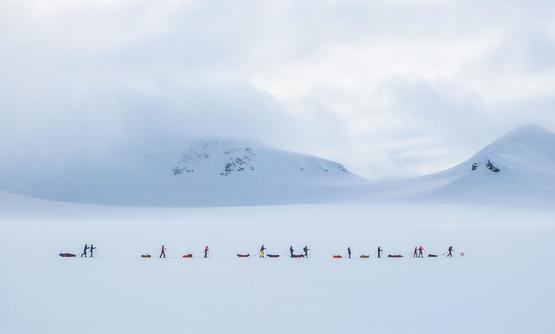 Svalbard - Nordenskiold Ski Expedition