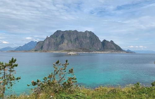 Hiking in Lofoten Archipelago