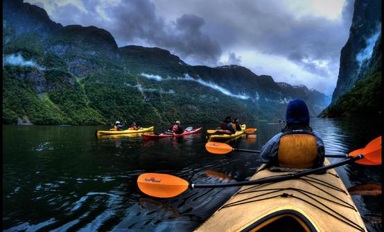 Kayak Tour in the Norwegian Fjords