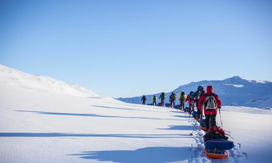 Winter course in Jotunheimen